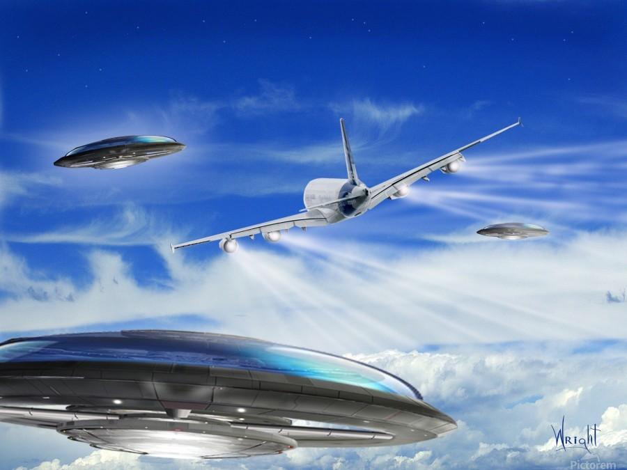 UFO Encounter  Print