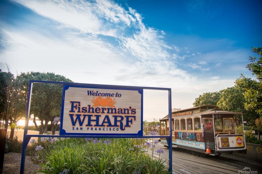 Fisherman Warf  Print