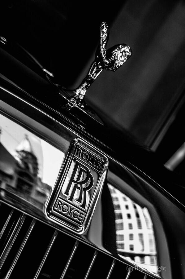 Rolls Emblem  Print