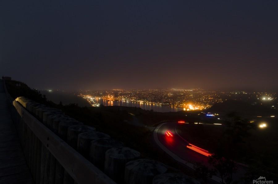 Night Scene from Signal Hill 7  Print