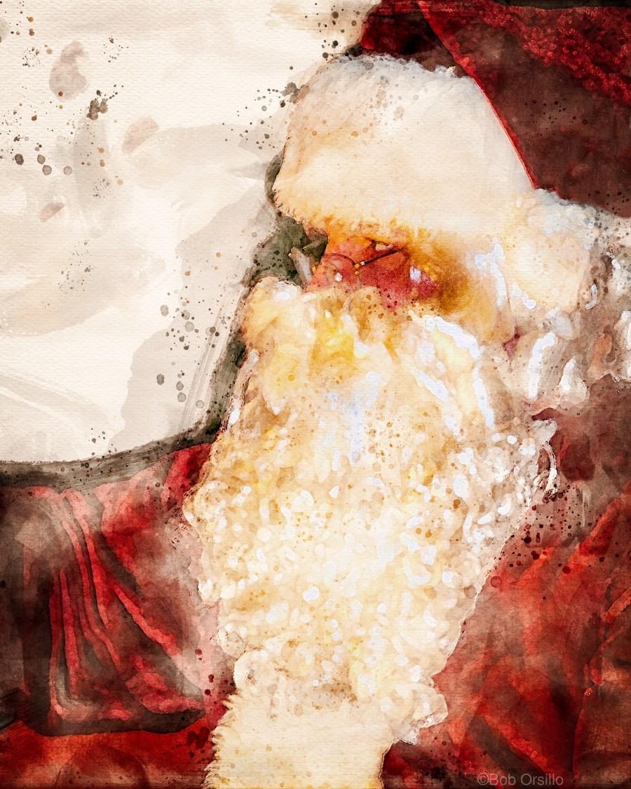 Santa Claus Christmas  Print