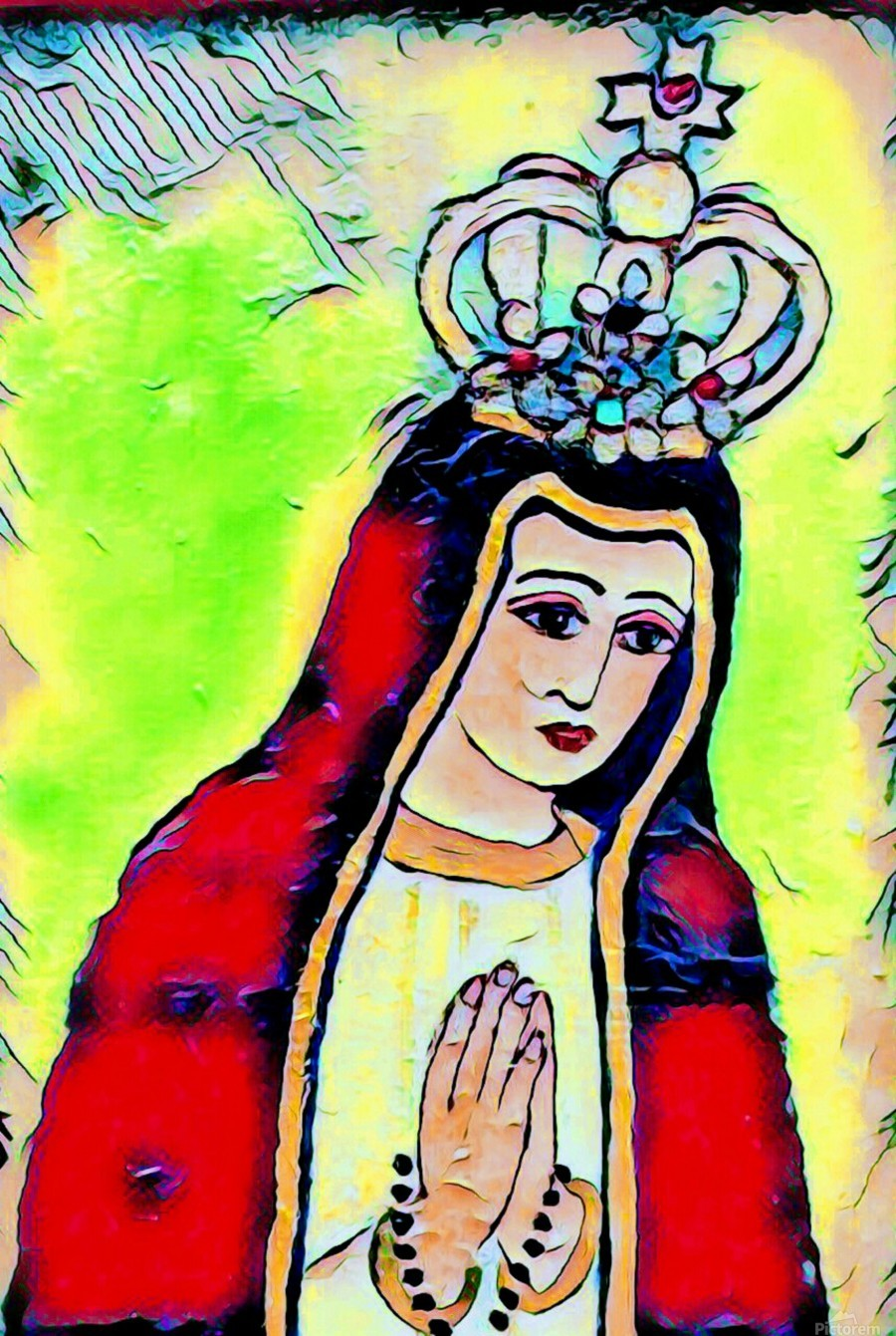 saint abstract  Print