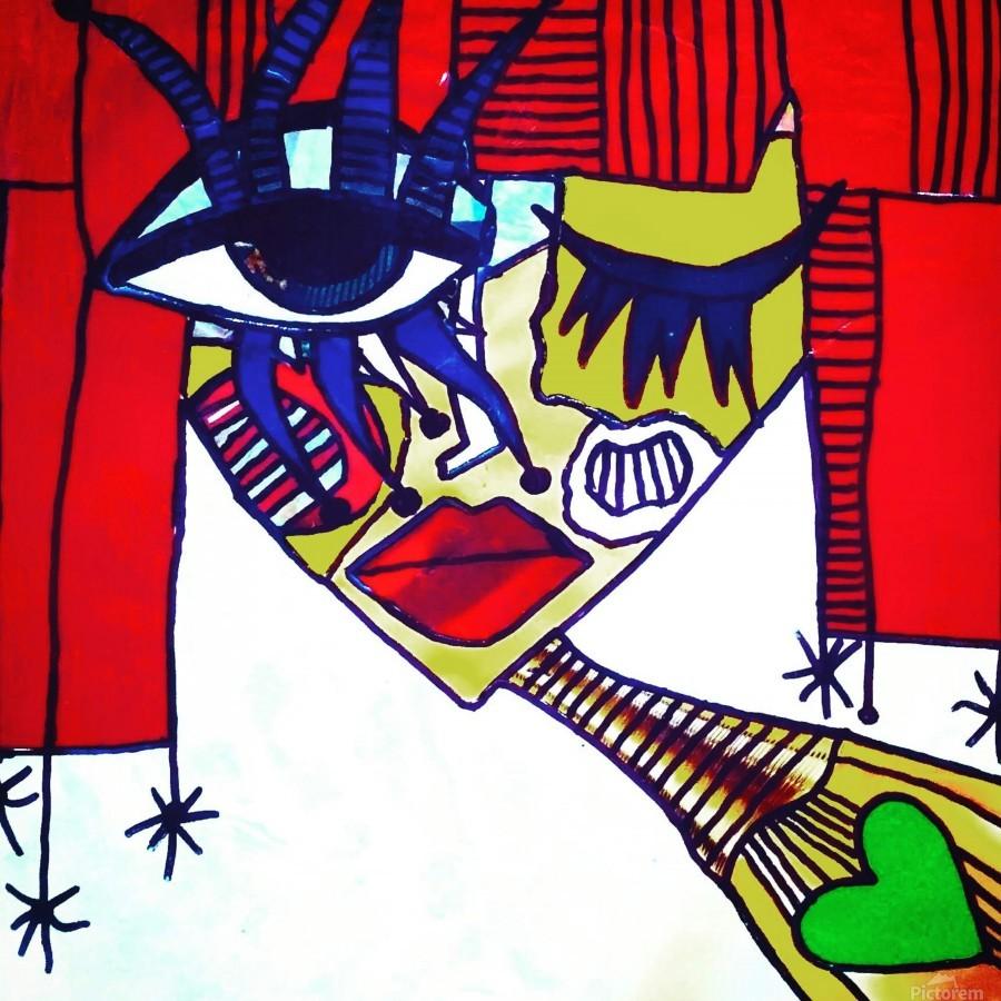 Red Warhol  Print