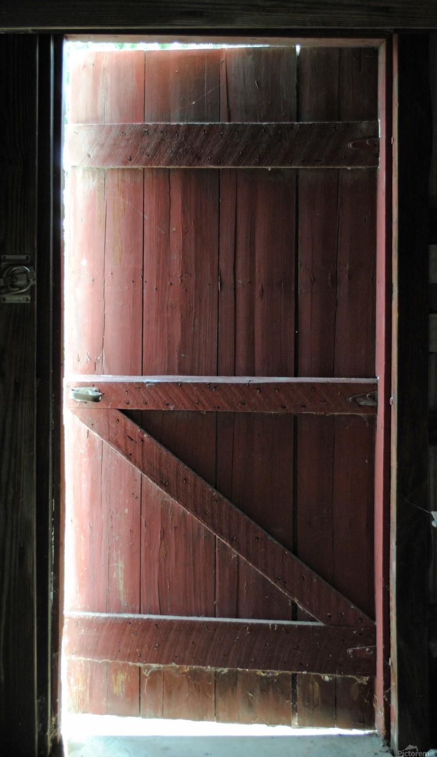 Barn Doors Open  Print