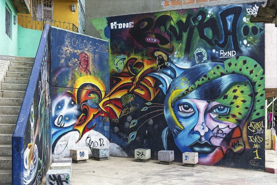 Background Graffiti  Print