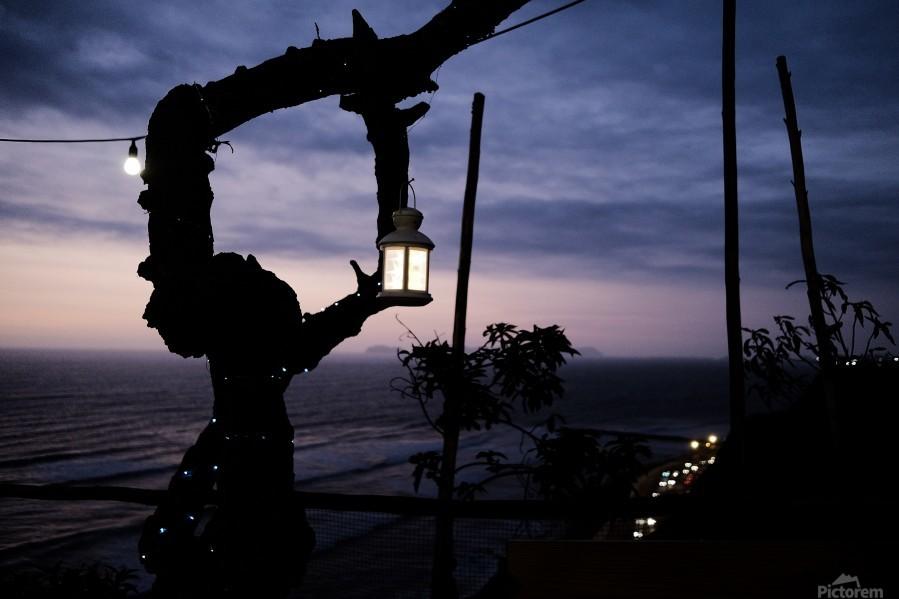 Lanterne de Lima  Print