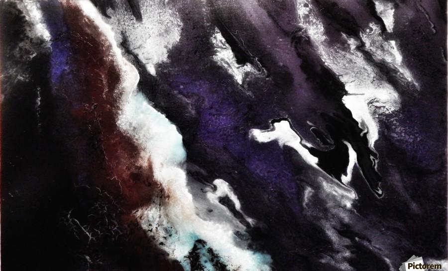 Odyssey Abstract Artwork  Print