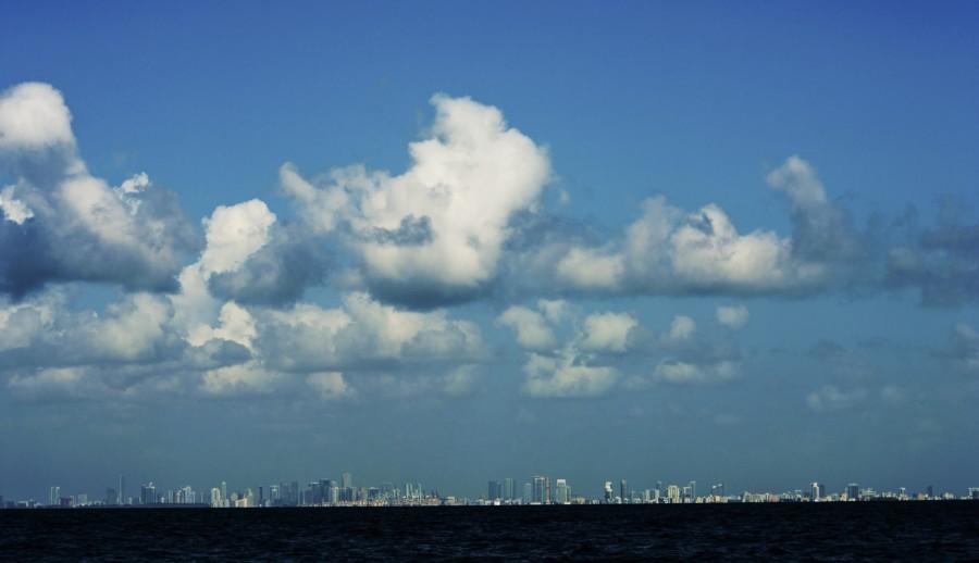Miami Skyline  Imprimer