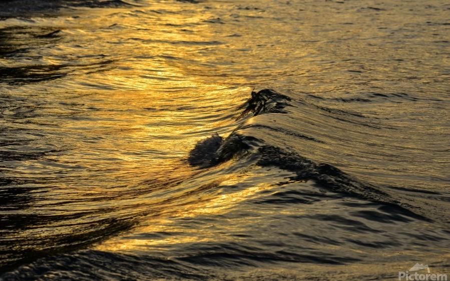 Lake Erie waves 9  Print