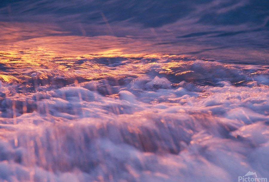 Lake Erie waves 3  Print