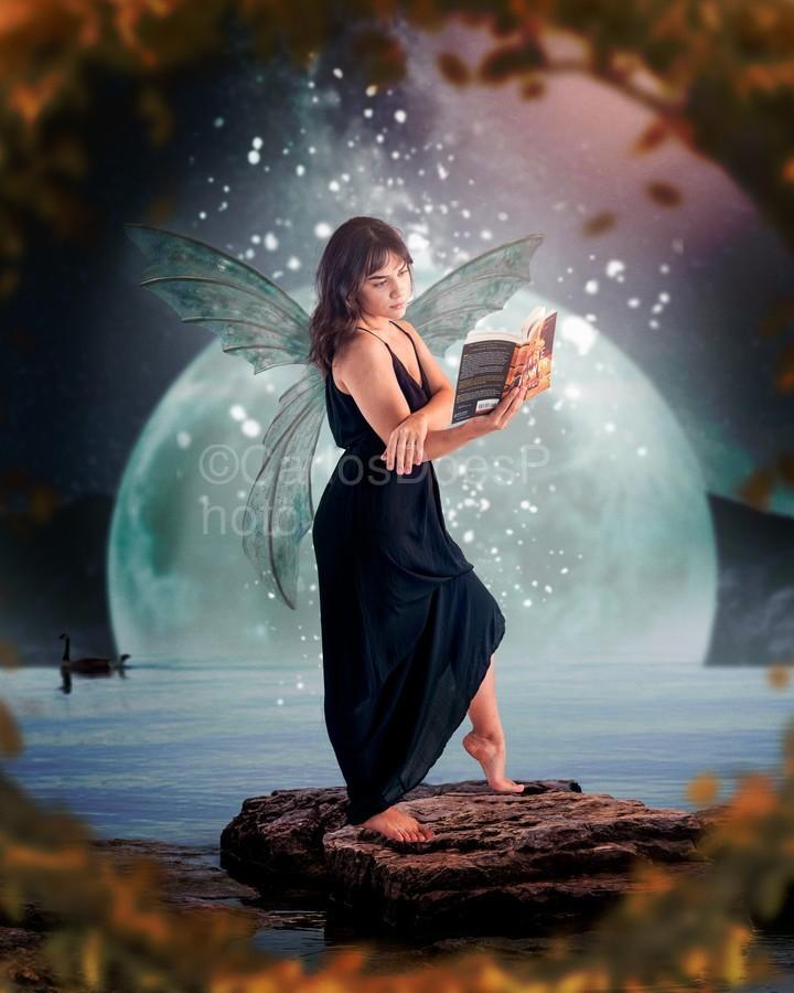 Fairy portrait  Print
