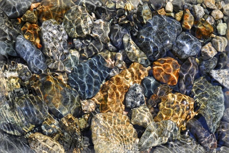 River Rocks  Print
