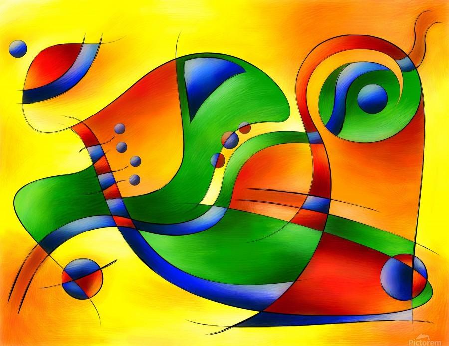 Antaressa - colourful world  Print