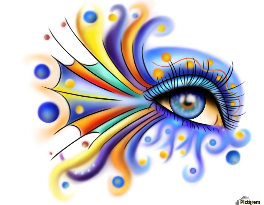 Arubissina V2 - fish eye  Print