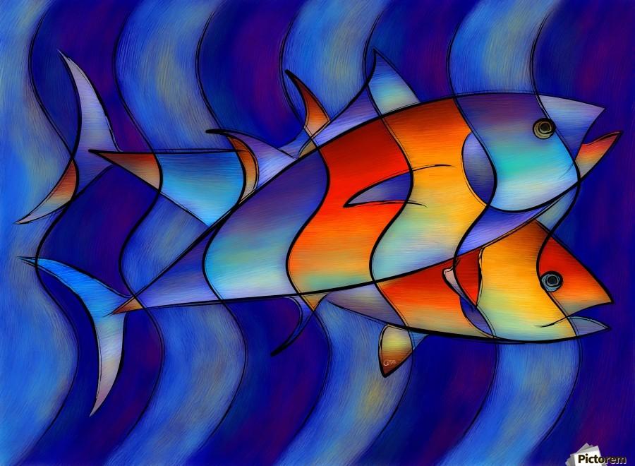 Cassanella - dream fish  Print