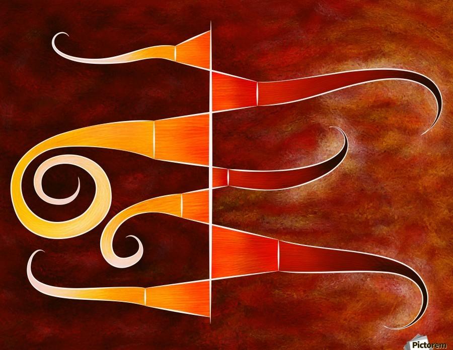 Cassanita sol - martian bird  Print