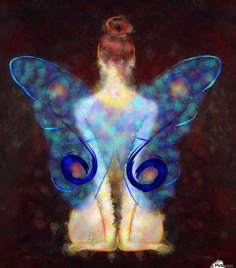 Elseminossa - butterfly beauty  Print