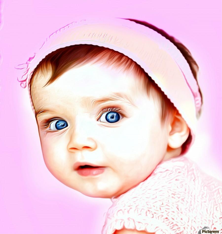 Cute Baby Pic Art  Print