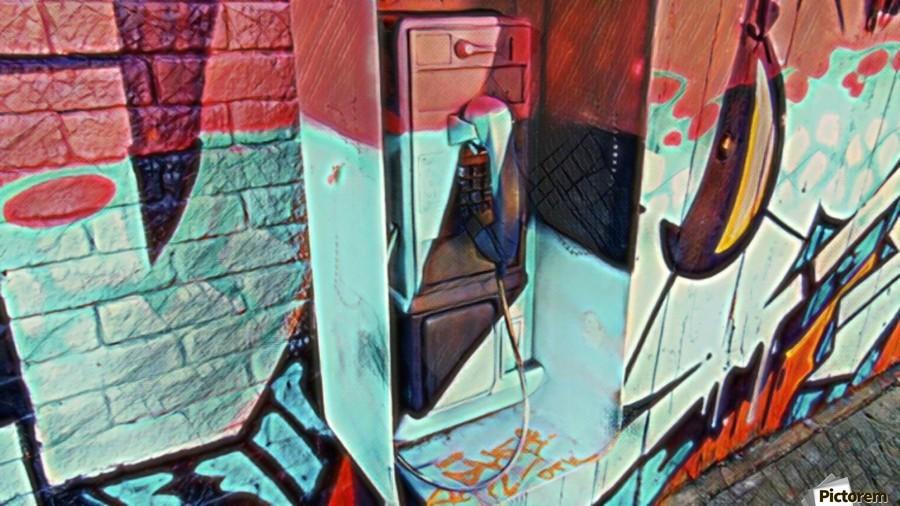 The Art Phone, Art Phone, pic art  Print