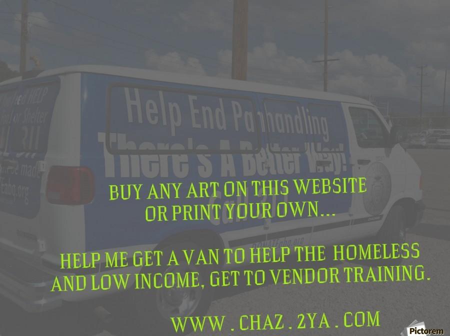 helping the homeless get to vendor training. OKC  Print