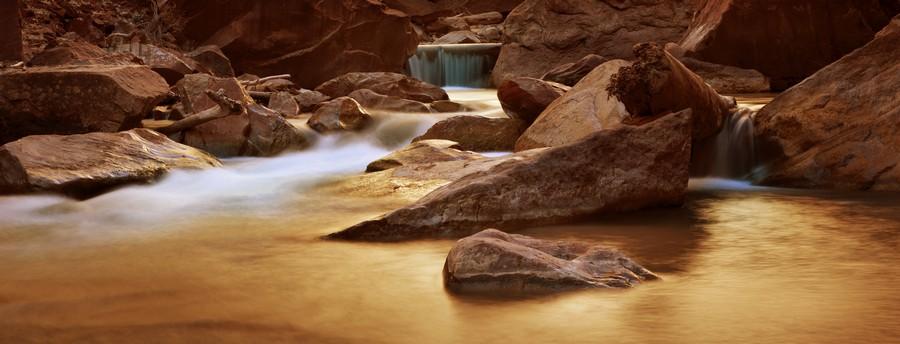 Zion Park River  Print