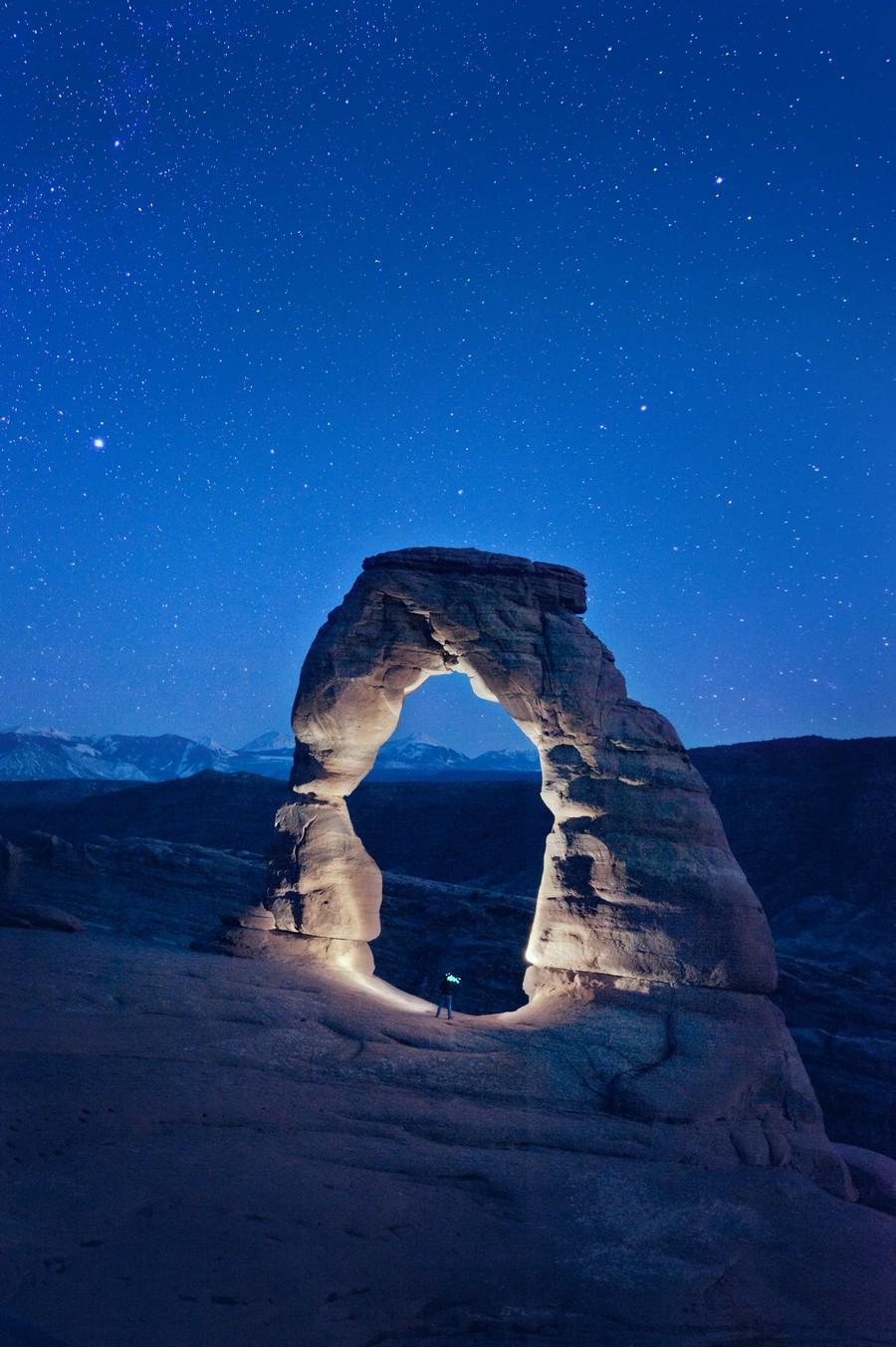 Delicate Arch Night  Print