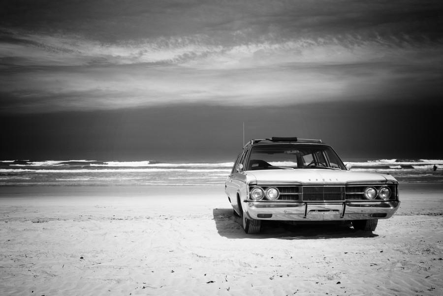 Daytona Beach 2  Print
