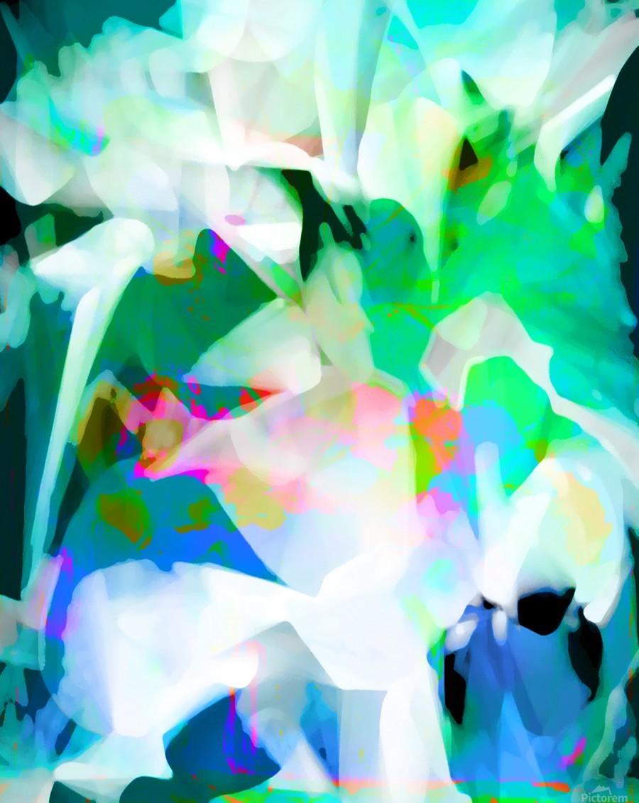 Snowdrops in Spring  Imprimer
