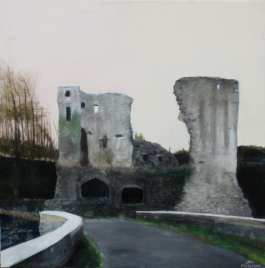 Mahee Castle  Print