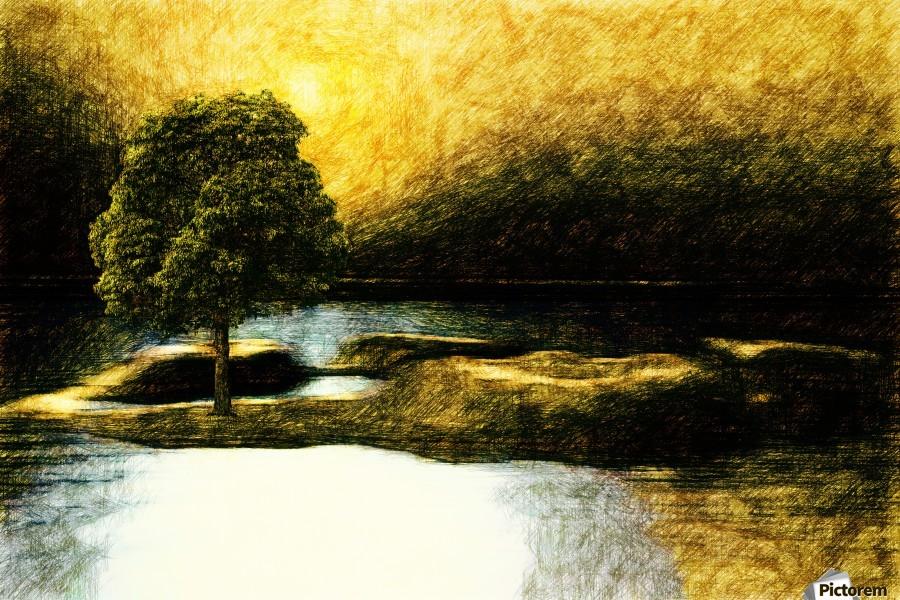 the Tree  Print