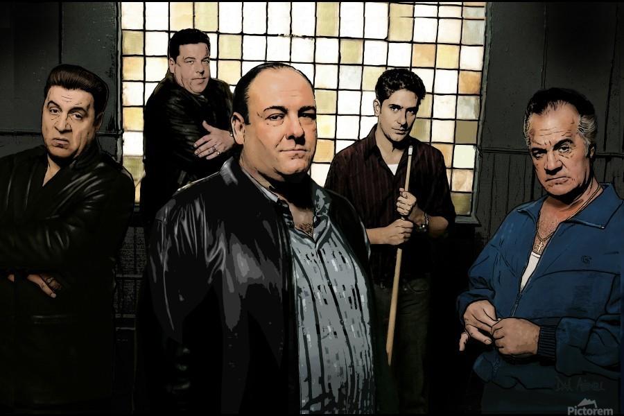 The Sopranos   Print
