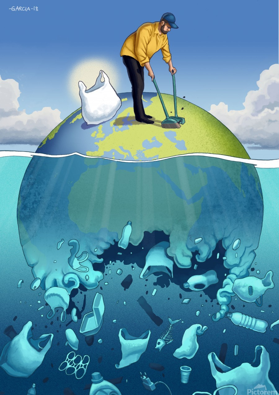 Clean the Planet  Print