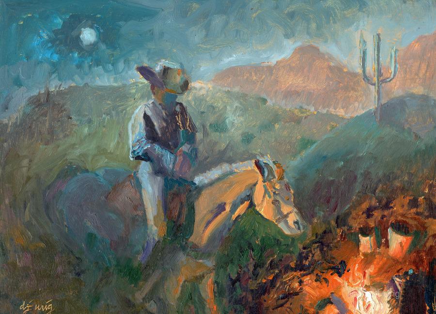 A Cowboys Trusted Friend  Print