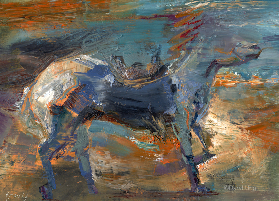 Ghost Rider - Titian  Print