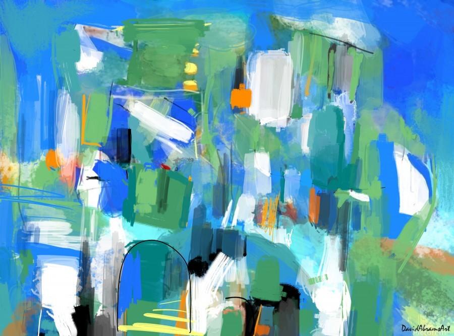 Azure Ascent  Print