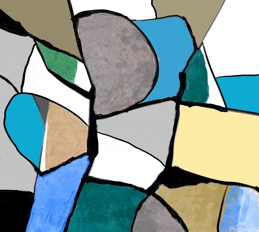 Meeting of Colors  Print