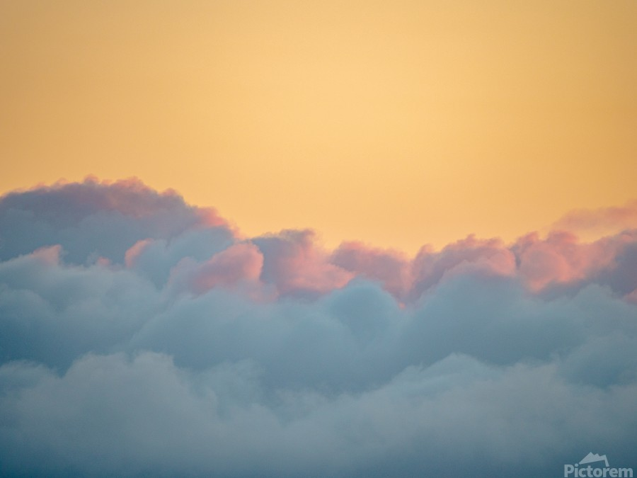 Clouds at Sunset  Print