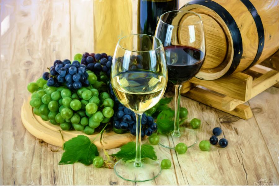 Wine Tasting  Print