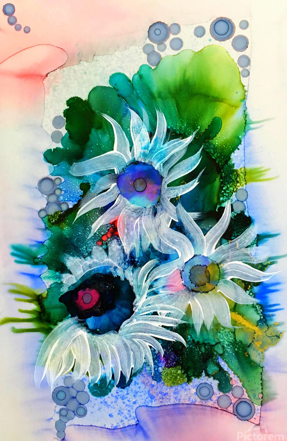 Floral Burst  Print