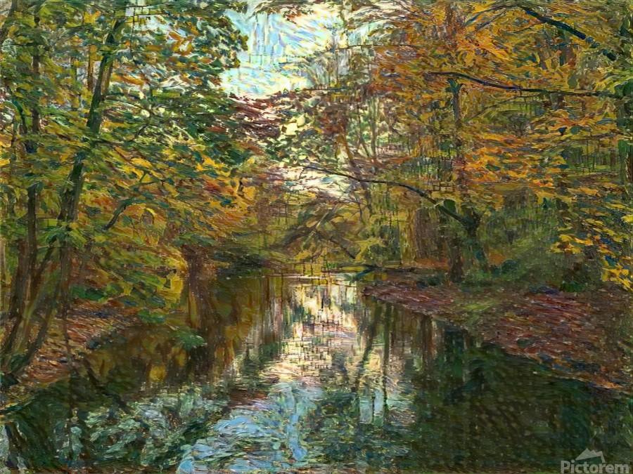 Autumn forrest  Print