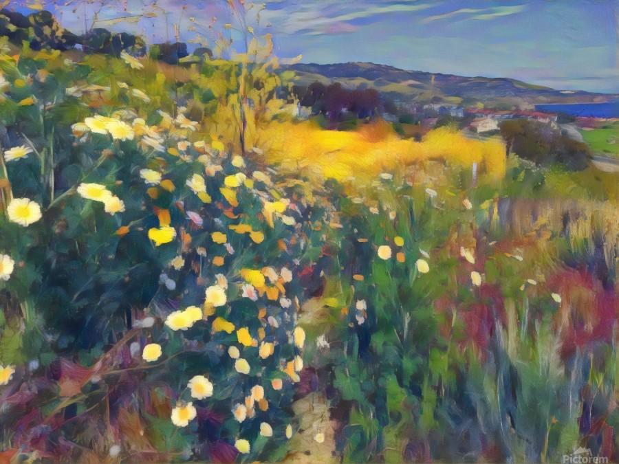 Spring daisies  Print