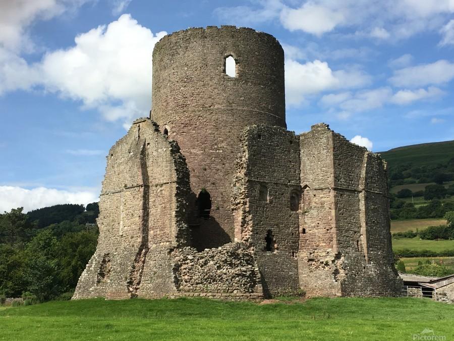 Treetower-Castle-Wales-1  Print
