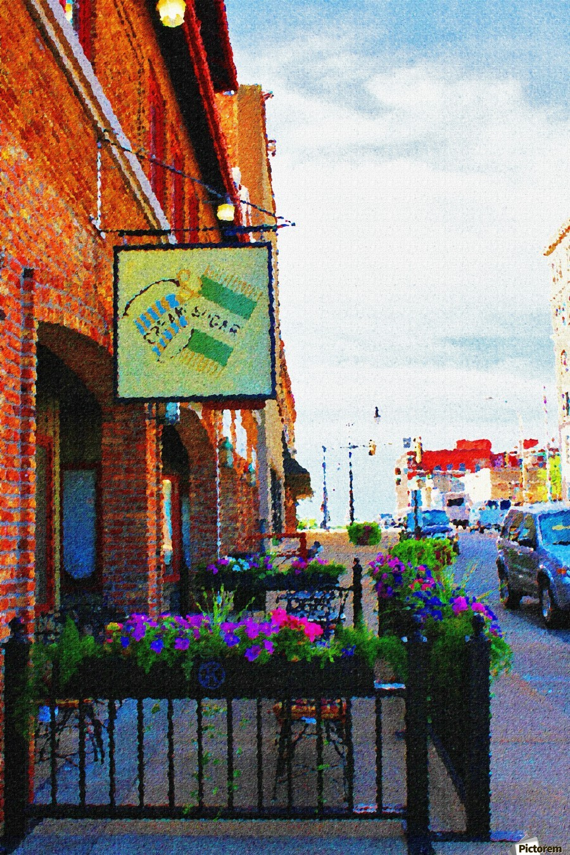 Downtown Kankakee Cafe  Print