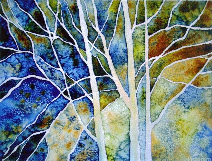 Birches  Print