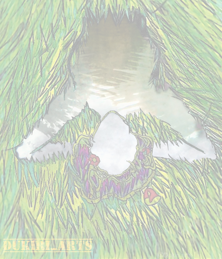 Woman of the Pond  Print