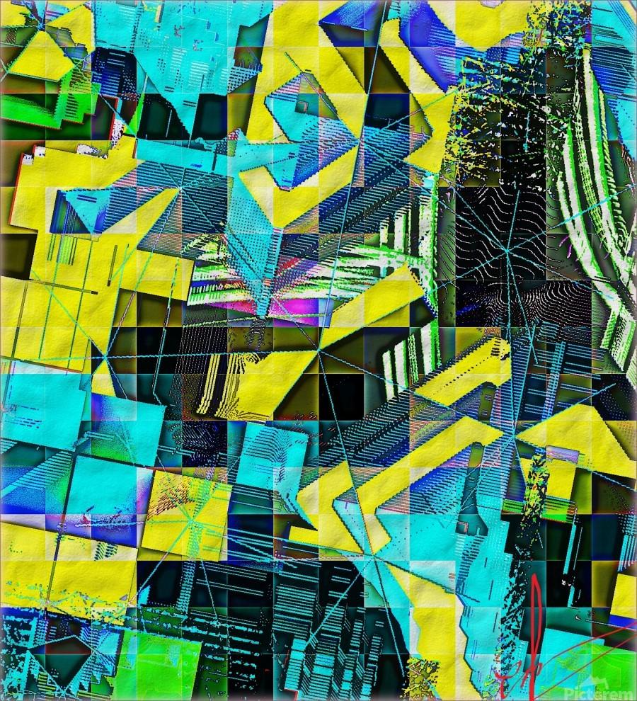 Hyperkaleidoscopically  Print