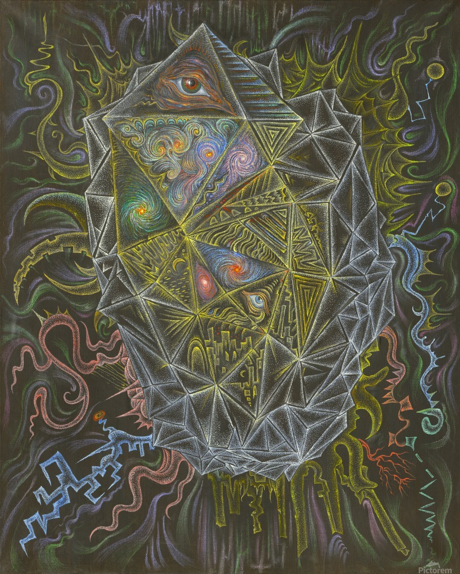 Deity_From_The_Abyss  Print