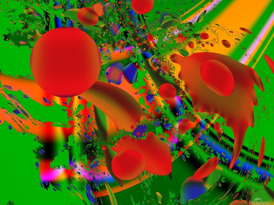 Tangerine_Island_7  Print