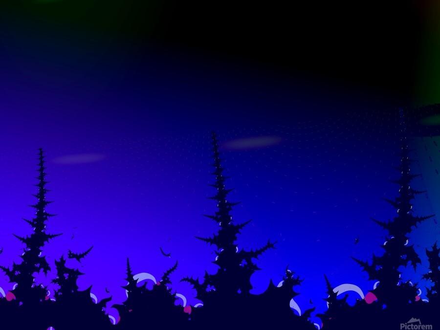 Noche_Azul  Print