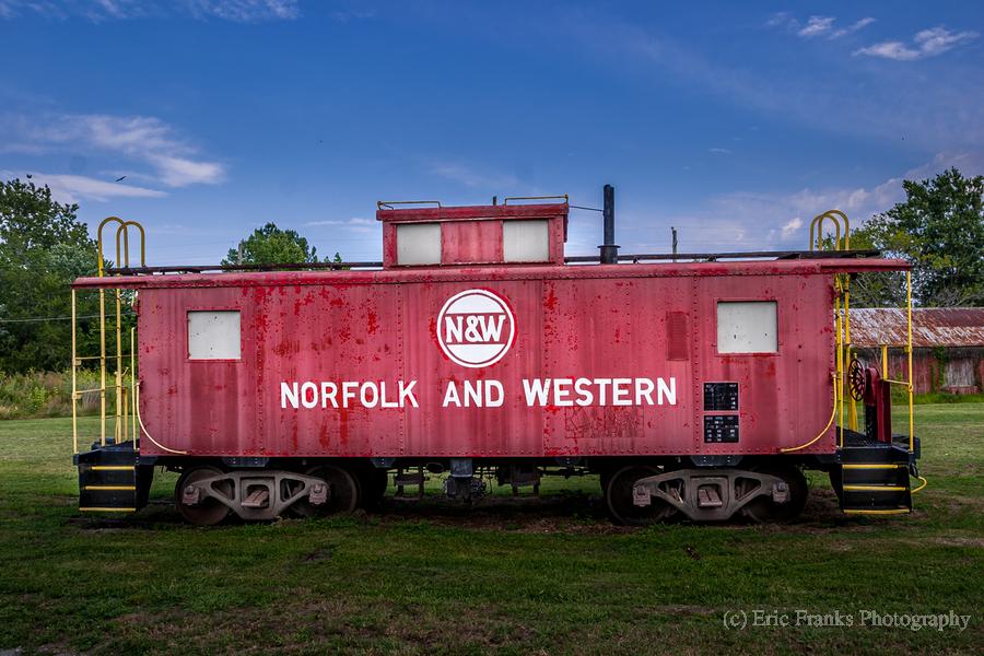Norfolk & Western Caboose  Print